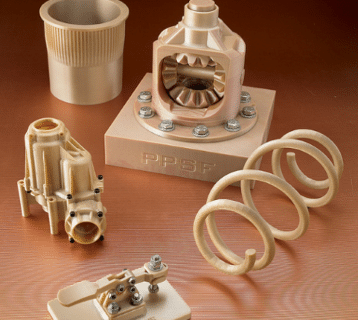 an Image showing several objects made with PPSF plastic