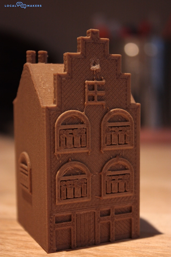 A 3D Printed Mini Help Canal House by Local Makers