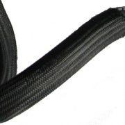 Braided PPS expandable sleeving has many applications across a lot of industries where wiring must be protected