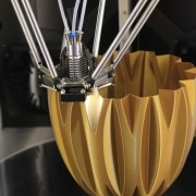 Printing with wood-metal filament